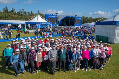 love.golf at The Solheim Cup