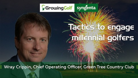 Tactics to engage millennial golfers