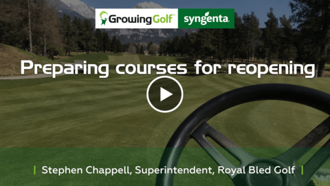 Steve Chappell courses reopening