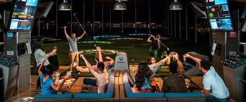 Topgolf entertainment experience