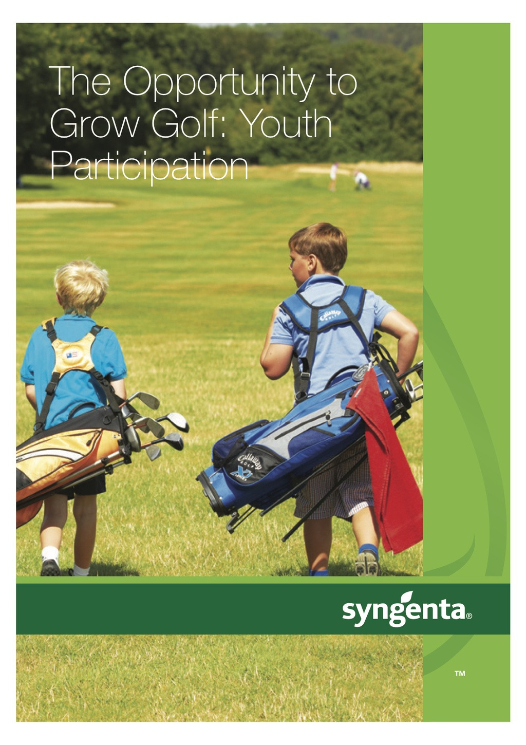 Syngenta Golf Youth Participation Report