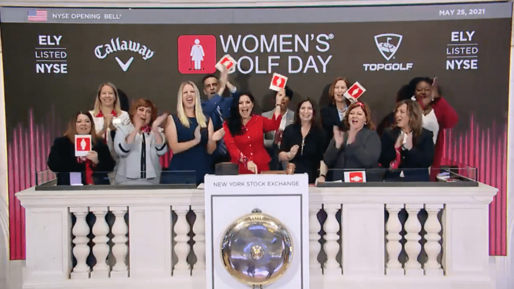 Women's Golf Day NYSE
